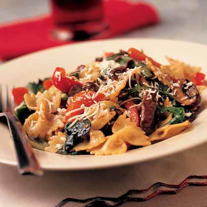Warm Bow-Tie Pasta Salad Recipe