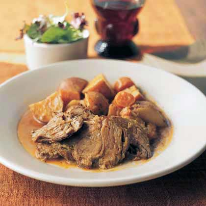 Savory Braised-Pork Supper