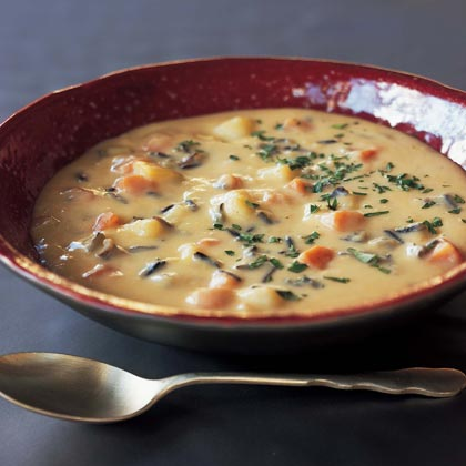 Chunky Potato-and-Swiss Chowder
