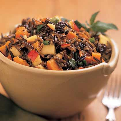 Sweet Potato-Wild Rice Salad