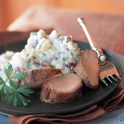 Sweet-and-Tangy Roasted Pork Tenderloin Recipe