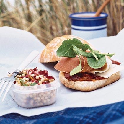 Couscous Salad with Radicchio and Pistachios