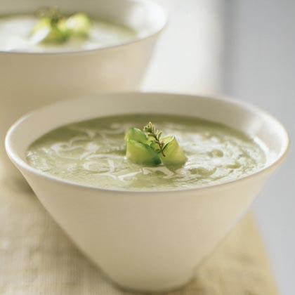 cucumber soup 1 cucumber soup this cold cucumber soup takes cucumber ...