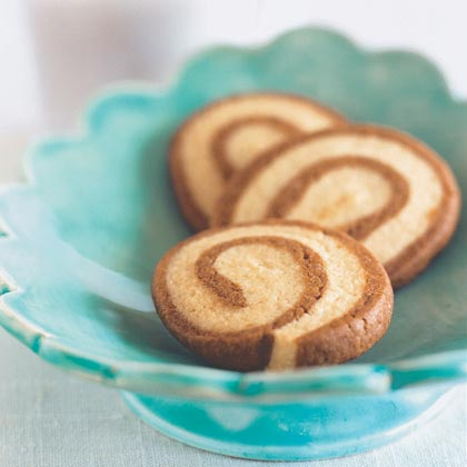 Gingerbread Pinwheels