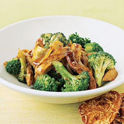 Orange Pork and Broccoli Stir-Fry