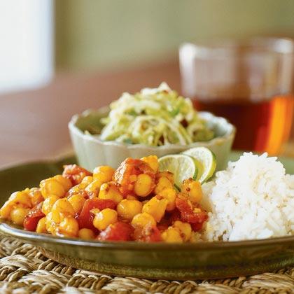 Garbanzo-Tomato Curry Recipe