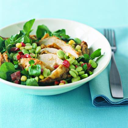 Fried-Chicken Salad