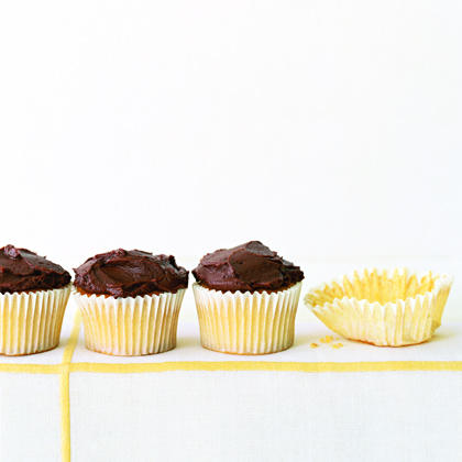 Chocolate Frosted CupcakesRecipe