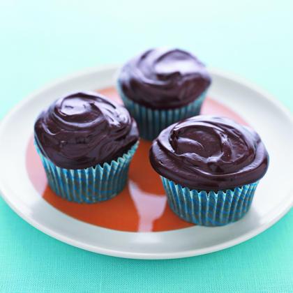 Secret-Ingredient Devil's Food Cupcakes