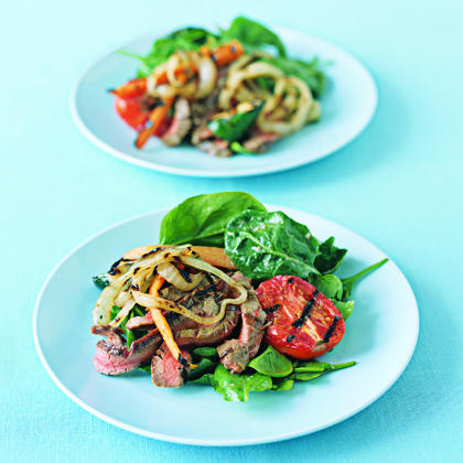 Grilled-Everything SaladRecipe