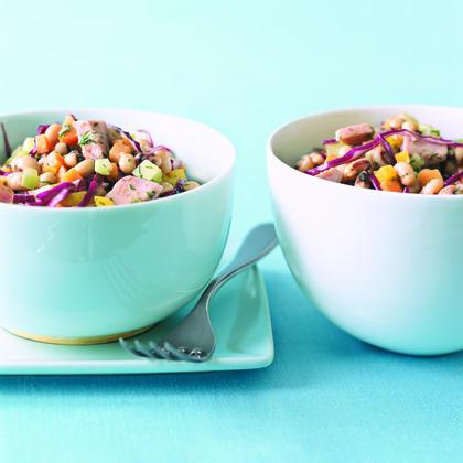Ham and Black-Eyed Pea Salad Recipe