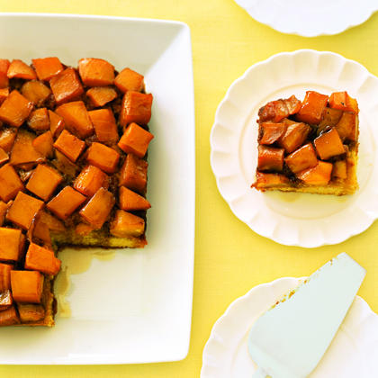 Mango Upside-Down Cake Recipe