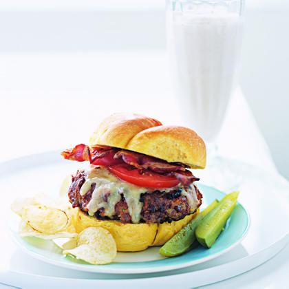 Turkey Meat Loaf Burgers