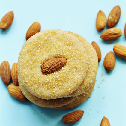 Golden Almond Cookies
