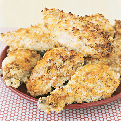 "Fake-and-Bake ""Fried"" Chicken"
