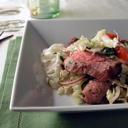 Grilled Beef Salad with Lemongrass Dressing Recipe