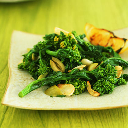 Broccoli Rabe and Olives with Lemon Recipe