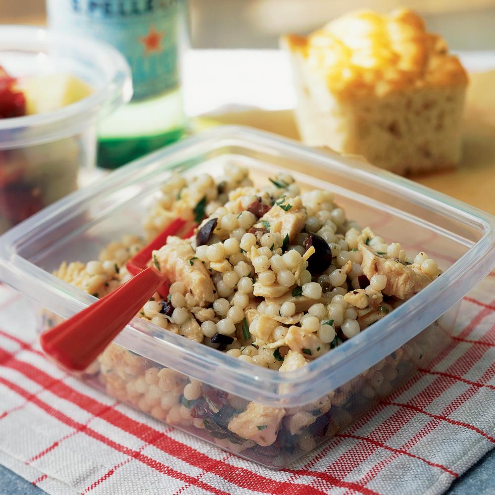 Chicken Salad with Olive Vinaigrette