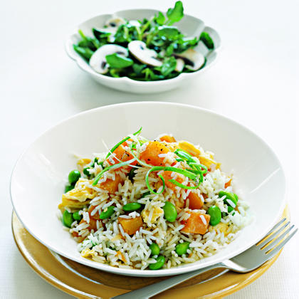 Coconut Rice with Winter SquashRecipe