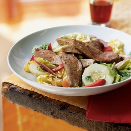 Thai Roast Duck Salad Recipe