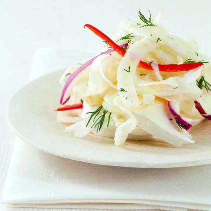 Fennel Salad with Fresh Mozzarella
