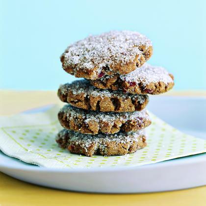 Cranberry Gingerbread Cookies