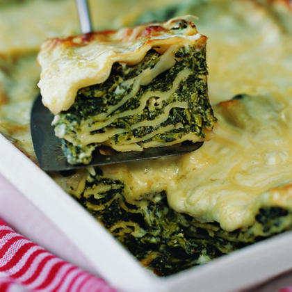Winter Green Lasagna