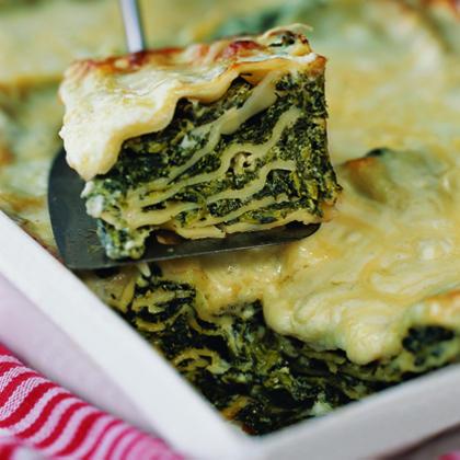 Winter Green Lasagna Recipe | MyRecipes.com