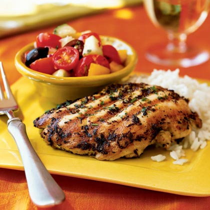Quick Grilled Chicken Menu Myrecipes