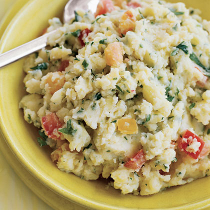 Mashed Tomato Potatoes
