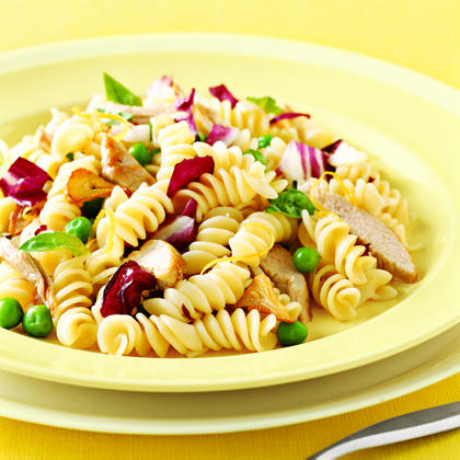 Pasta with Peas and Pork