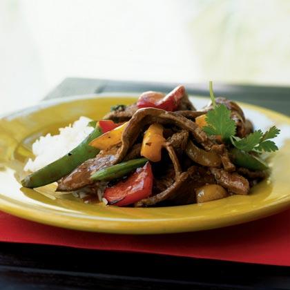 Three-Pepper Beef Recipe