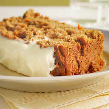 Carrot Quick Bread with Cream Cheese Frosting Recipe