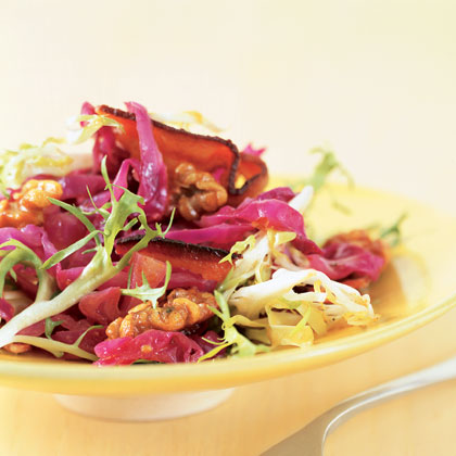 Warm Red Cabbage with BaconRecipe
