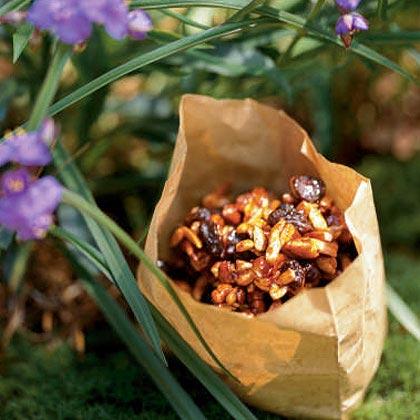 Honey-Roasted Nuts and Fruit Recipe