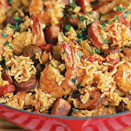 Shrimp and Sausage JambalayaRecipe
