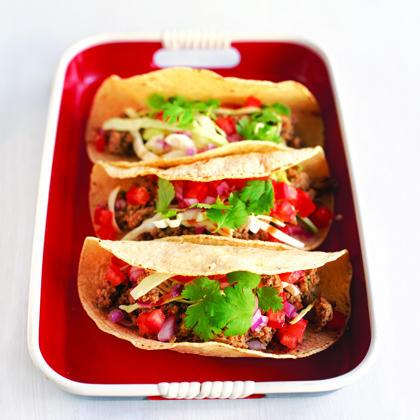 Meaty Soft Tacos