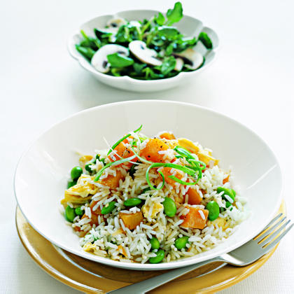 Watercress and Mushroom Salad with Lime Vinaigrette