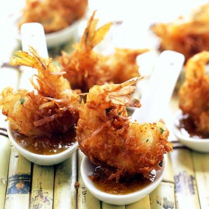 Coconut Shrimp with Maui Mustard Sauce