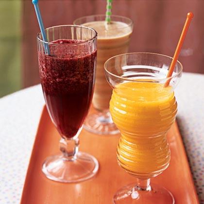 Spicy Mango-Orange Slush