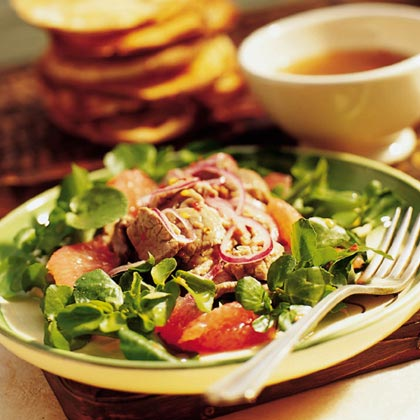 Walla Walla Beef Salad Recipe