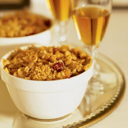 Cranberry-Pear Crisp Recipe