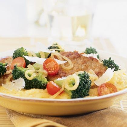 Braised Broccoli with Turkey Sausage