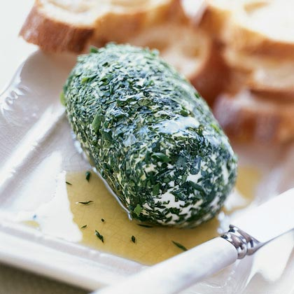 Herb Cheese Log