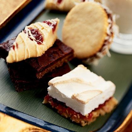 White Chocolate-Raspberry Slices Recipe