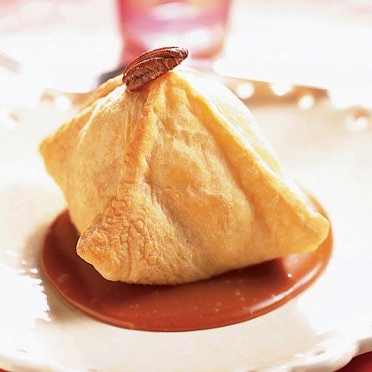 Double-Caramel Apple Dumplings