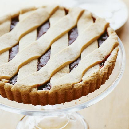 Cranberry Jam Tart Recipe