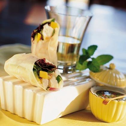 Mango-Mint Lobster Rolls Recipe | MyRecipes