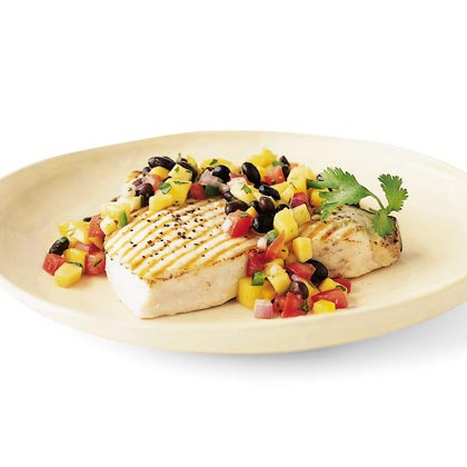 Black Bean–Mango Salsa