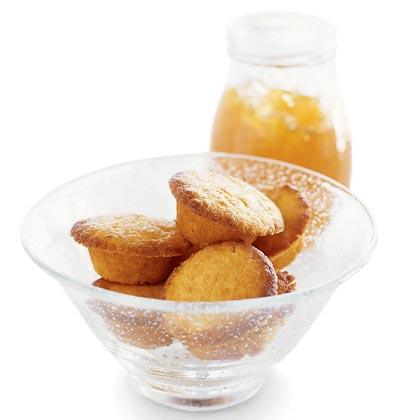 Orange Tea Cakes Recipe